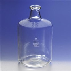 Large Pyrex Solution Bottle, 19000mL (5 gallon) Glass Lab Carboy