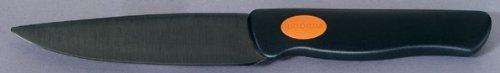 """4"""" Chef'S Fruit Knife: Black Handle / Black Ceramic Blade Knives"""
