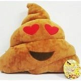 Emoji-32cm-Silly-Smiley-Pillows-Emoticon-Brown-Round-Cushion-Pillow-Stuffed-Plush-Soft-Toy-smiley-Poop-heart-eyes-trademark-of-2mb-enterpise-llc