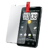Generic Combo Screen Protector for HTC EVO 4G Sprint - Non-Retail Packaging - Clear