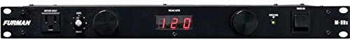 Furman M-8Dx Merit Series Power Conditioning, 15 Amp, 9 Outlets with Wall Wart Spacing, Pullout Lights, Digital Voltmeter (Power Conditioner Audio compare prices)