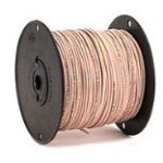 Coleman Cable 962384509 500-Feet Solid Copper Wire, CL2 General Purpose Cable, 22/4-Pair