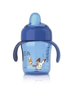 Philips Avent Magic Spout Cup 260Ml 12 Months Plus Scf752/00 Bpa Free Boys Blue Great Gift For Baby Free Shipping Ship Worldwide