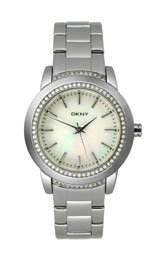 DKNY 3-Hand with Glitz Women's watch #NY8673