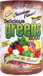 Greens World Delicious 8000 Supplement, Chocolate, 10.6 Ounce (Super Greens 8000 compare prices)