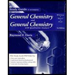 General Chemistry Study Guide by WHITTEN