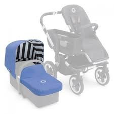 Bugaboo Donkey Tailored Fabric Set - Jewel Blue (Special Edition)