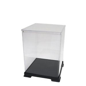 Height 20cm [transparent case series] figure case width 15cm x 15cm x depth