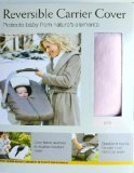 Eddie Bauer Reversible Carrier Cover, Pink Fleece/Nylon Car Seat Cover - 1