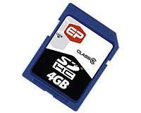 4GB High Capacity CAT-6 Secure Digital Card Sdhc