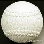 <野球用品/ボール>【超特価】 軟式A号練習球(スリケン) ナガセケンコー検定落ち ダース売り
