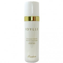 Guerlain Idylle Perfumed Deodorant Spray for Women, 3.4 Ounce