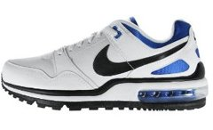 Men's Nike Air Max T-Zone LE (White-Black-Varsity/Royal)(Size=9.5M)