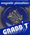 GrabbIt magnetic pin cushion and pins royal blue