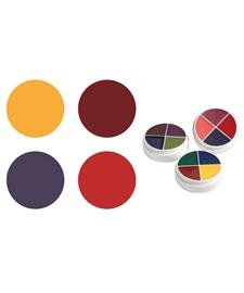 F/X Color Wheels Ben Nye Bruise & Abrasions (Bruise Colors)