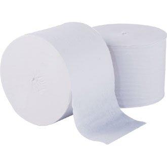 White Coreless Toilet Roll - 112.5m per roll (Box 36)