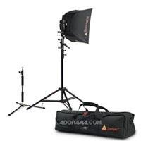 Photoflex Location Kit, Extra Small LiteDome, Connector, StarFire ShoeMount Digital Flash, LiteReach Kit