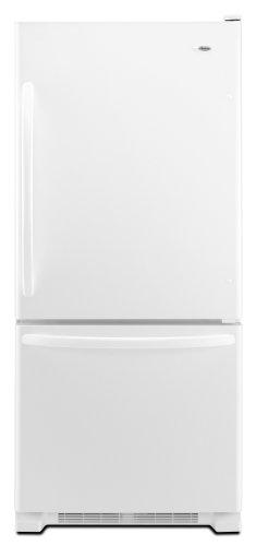 Amana 21.9 cu. ft. Bottom-Freezer Refrigerator, ABB2224WEW, White