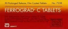 Ferrograd C Iron & Vitamin C 30 Tablets