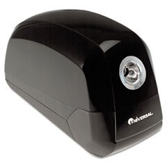 ** Contemporary Design Electric Pencil Sharpener, Black **