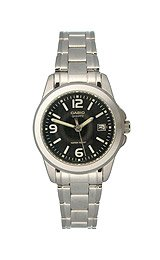 Casio General Ladies Watches Metal Fashion LTP-1215A-1ADF - WW