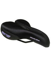 Planet Bike Women's A.R.S. Anatomic Relief Bicycle Saddle (Black/Black)
