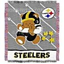 Pittsburgh Steelers 36X48 Baby Blanket / Throw front-485544