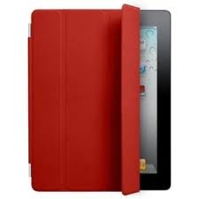 Apple iPad Smart Cover Leather - Red