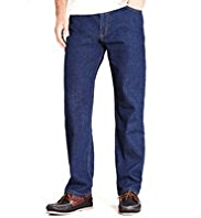 Shorter Length Blue Harbour Luxury Straight Leg Regular Fit Denim Jeans