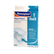Hansaplast MED Aqua Protect XXL-Pflaster, 5 St
