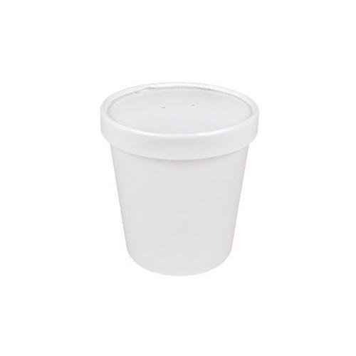 25ct White Pint Frozen Dessert Containers 16 oz (Ice Cream Freezer Containers compare prices)