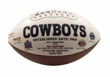 Dallas Cowboys Signature Series Full Size Football