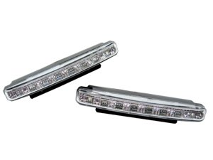 Euro Style 8 LED DRL Daytime Running Light Kit For NISSAN Bluebird