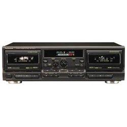 Technics RS-TR575 - Dual cassette deck - black