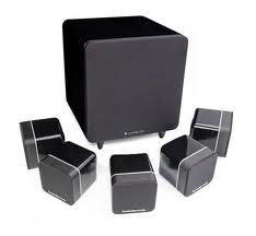 Cambridge Audio - Minx S315 v2 - 5.1 Home Cinema System - High Gloss Black