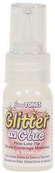 Jones Tones Glitter Glue Fine Line Tip 2 Oz. Bottle