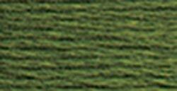 DMC Pearl Cotton Skeins Size 5 27.3 Yards Medium Avocado Green 115 5-937; 12 Items/Order