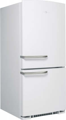 GE Artistry Series 20.3 Cu. Ft. Bottom-Freezer Refrigerator White ABE20EGHWS