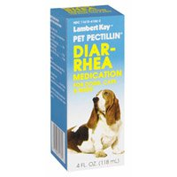 Lambert Kay Pet Pectillin Diarrhea Medication for Dogs, Cats, and Birds