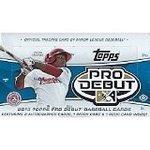 2013 Topps Pro Debut Hobby Baseball Box by Topps