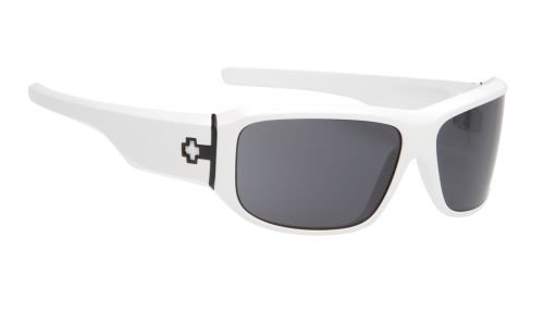 Spy Optic Lacrosse Sunglasses - Color: White/ Grey