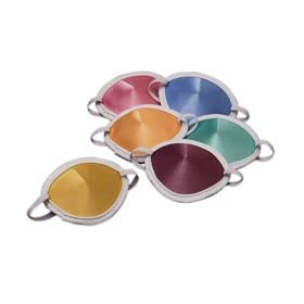 Adult Pastel Colored Eye Patch (set of 6): Amazon.com