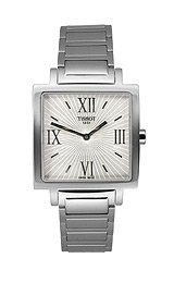 Tissot T-Trend Happy Chic Polished Steel Silver Dial Women's watch #T034.309.11.033.00