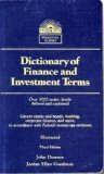 Dictionary of Finance and Investment Terms (Barrons Financial Guides)