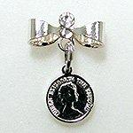 Jewelry Nail プリティネイル チャーミングリボンー2 エリザベス シルバー PNー0303R