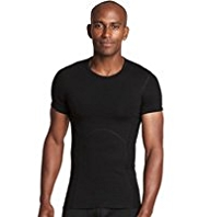 Bodymax Stretch Cotton Short Sleeve Shaping Vest