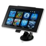 TM-706 7.5-inch Touch Screen FM Bluetooth GPS Navigator with Romania Map