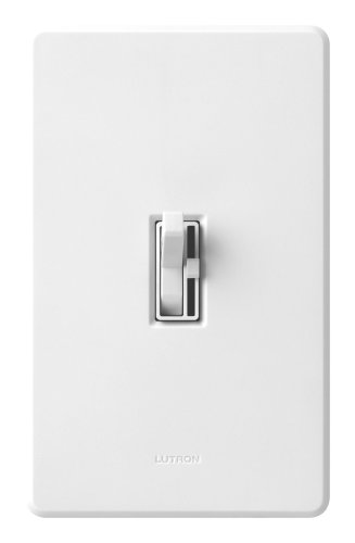 Lutron TG-103PH-WH Toggler 1000W 3-Way Preset Dimmer White (1000 Watt 3 Way Dimmer Switch compare prices)