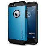 iPhone 6 ケース Spigen [スタンド機能] タフ・アーマーS Apple iPhone 4.7 (2014) (国内正規品) (エレクトリック・ブルー 【SGP11041】)