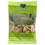 Bare Fruit Dried Fruit Organic Pears 2.2 oz. (Pack of 12)